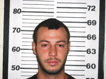 Jeremy Edward Gibson, 25, (shown above) is accused of abusing his infant daughter.