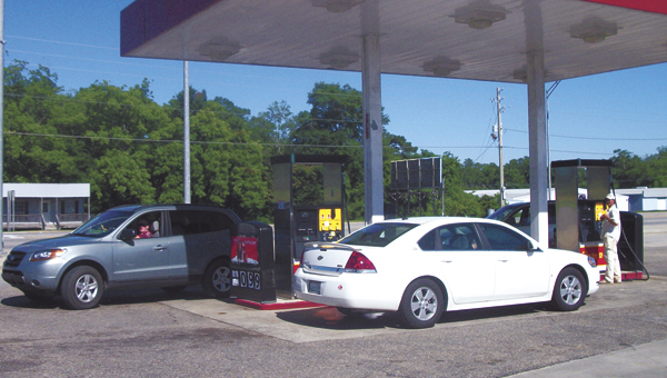 Gas prices are at the lowest point they've been this year.  File photo