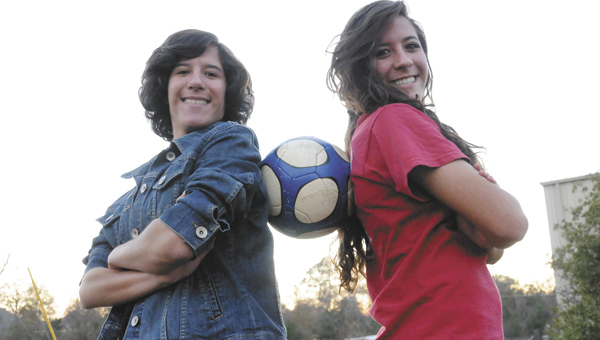 Jasmine and Jennifer Botta will be two of the first girls on the field for the AHS soccer team tryouts.  | Andrew Garner/Star-News