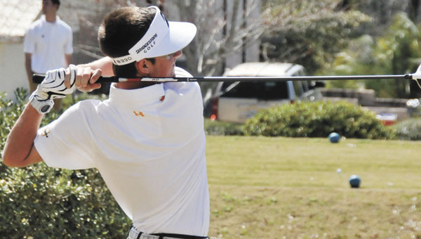 Straughn's Brooks Rabren finished the second round of the Class 3A State Golf Tournament with a 4-under-par 68 to earn the low medalist and state title as an individual. | File photo