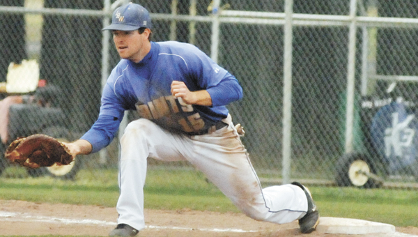 LBWCCfirst baseman Ryan Barnes was named as the Southern Division Player of the Year for the 2013 season. | Andrew Garner/Star-News