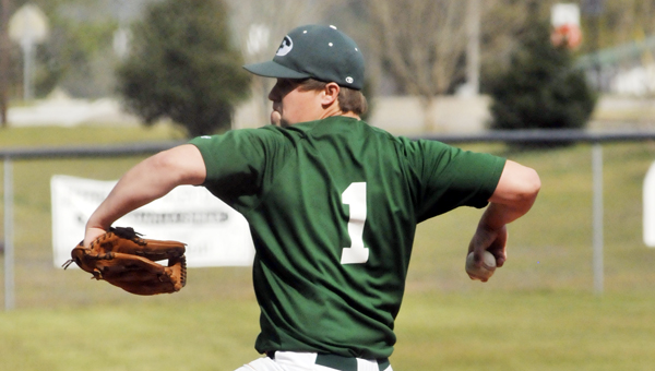 Florala senior pitcher John Bess was selected to the first team of the Alabama Sports Writers Association Class 1A All-State Baseball Team. | Andrew Garner/Star-News