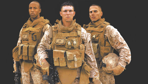 American Apparel, which is headquartered in Selma and has a manufacturing facility in Opp, has gotten a contract to produc combat utilitie uniform blaouses, like those shown above, for the Marines. Photo courtesy U.S. Marines