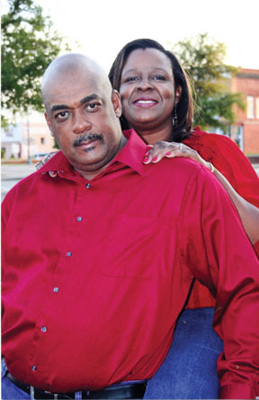 Karen Marvin and Willie Foster
