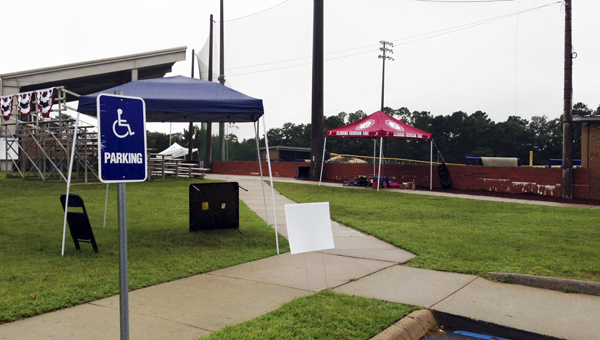 Today's games at the 2013 Babe Ruth World Series were canceled because of the downpour of rain. | Andrew Garner/Star-News