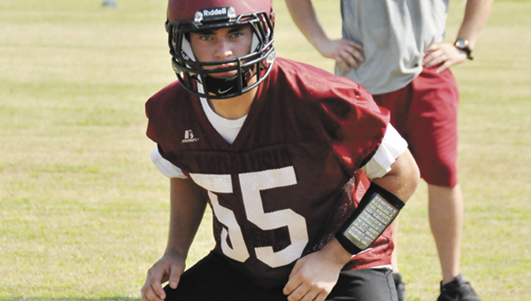 Andalusia's Justin Scherzinger and the rest of the Bulldogs will take on Jackson tonight in a jamboree. | Andrew Garner/Star-News