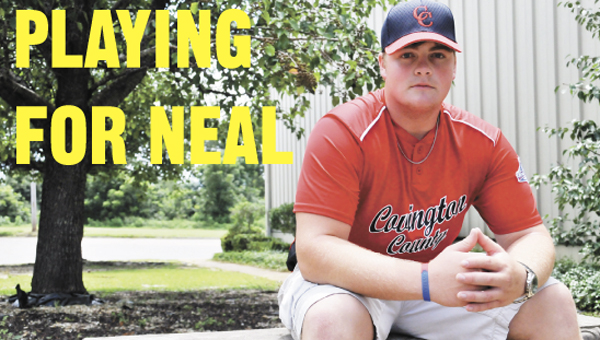 Cody Marler will be playing for good friend Levi Neal this week at the World Series. Neal did in a car wreck in 2011. | Andrew Garner/Star-News