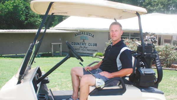 Jeff Mullins is general manager at the Andalusia Country Club.