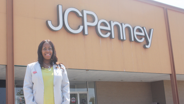 Tameka Belcher is the general manager at Andalusia's JC Penney.