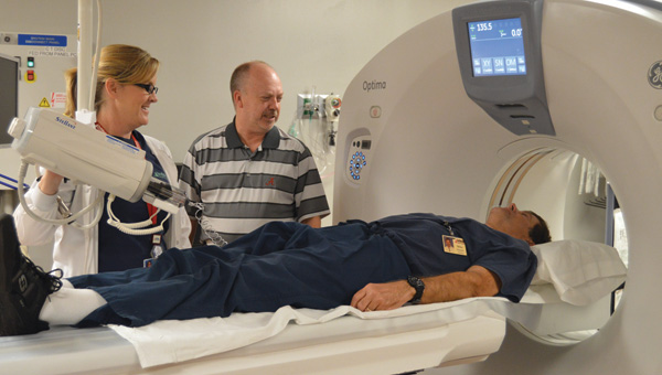 Shown is the new CT scanner at ARH. |  Michele GerlachStar-News