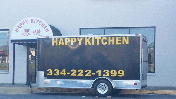 Happy Kitchen will open next week in the West Gate Plaza.  Kendra Majors/Star-News