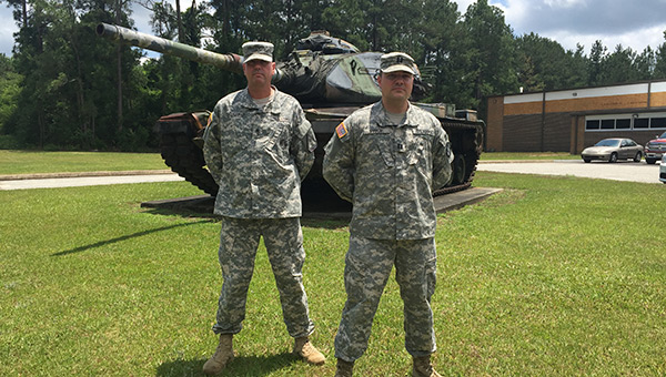 Sgt. Donald Cuchens and Capt. Stephen Price