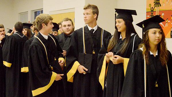 SHS grads prepare